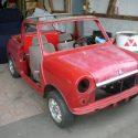 Mini Cabrio (L+H Erdbeerkörbchen), Jahrgang 1985, Restaurationsprojekt